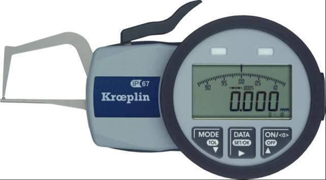 德国KROEPLIN外卡规C1R10S