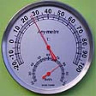 室内温湿度计 不锈钢温湿度计