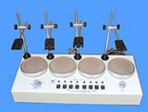 四聯磁力恒溫攪拌器