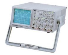 GOS-6050  50MHz频宽双通道模拟示波器