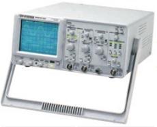 台湾固纬100 MHz 双频道多功能计频器 模拟示波器 GOS-6112