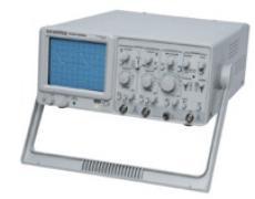台湾固纬GOS-622G 模拟示波器频宽 20 MHz 双频道