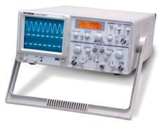 【台湾固纬】 模拟示波器 GOS-630FC 2通道 带宽30M 频率计数器