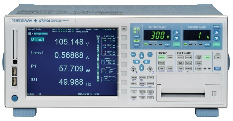 WT3000功率分析儀