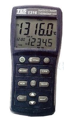 台湾泰仕温度记录表TES-1316