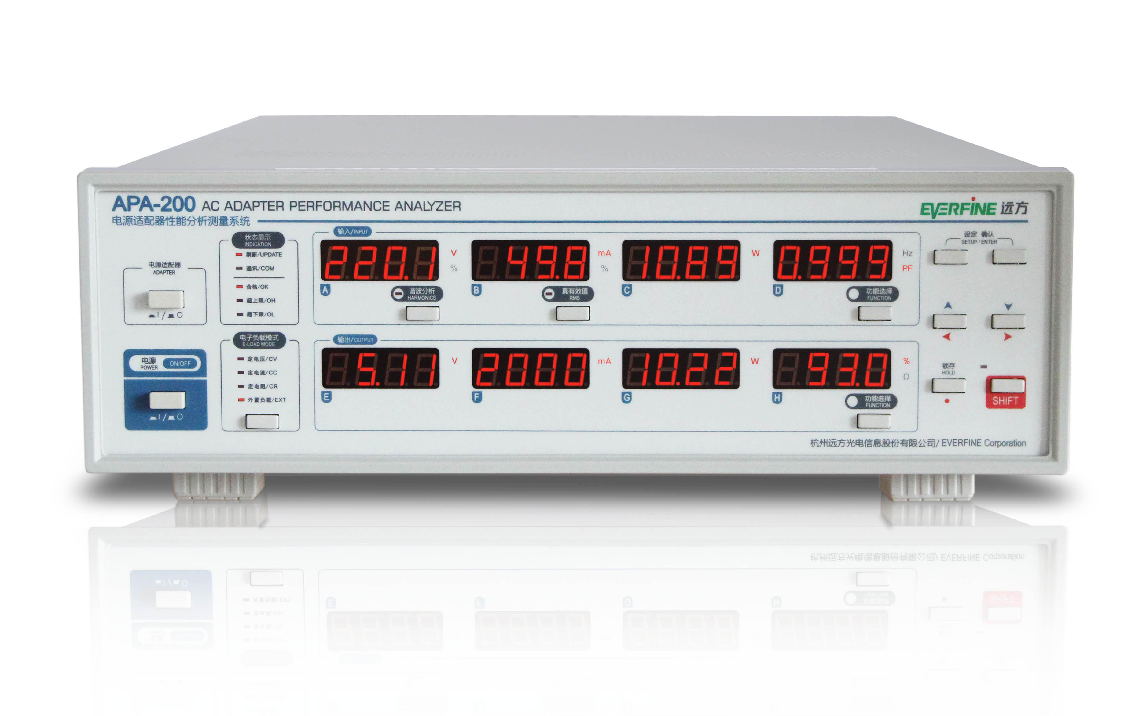 杭州远方电源适配器性能分析系统APA-200
