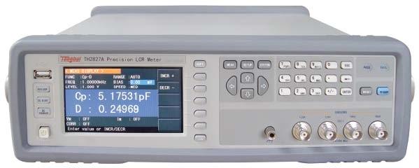 常州同惠精密型LCR数字电桥TH2827B