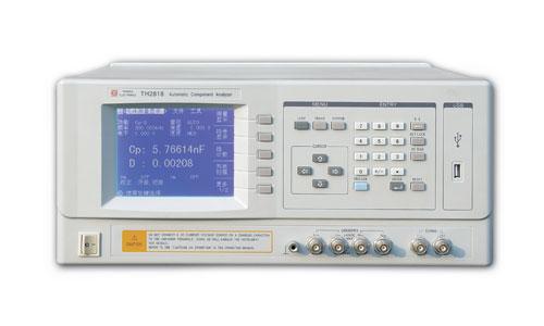 常州同惠精密型自动元件分析仪TH2818