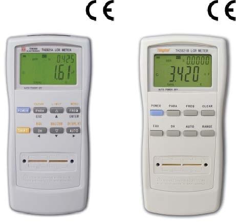 常州同惠精密型手持式LCR数字电桥TTH2821B