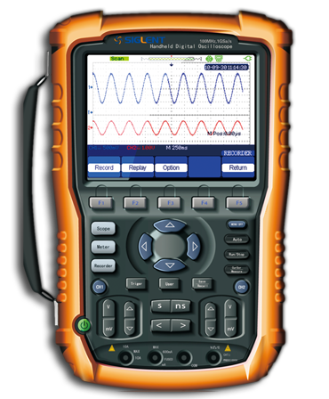 深圳鼎陽示波器手持式示波表SHS1102(100MHz)手持示波器 SHS1062(60MHz)