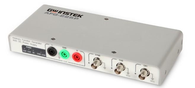 台湾固纬可直接进行数字电路实验USB任意波信号发生器AFG-125P