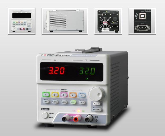 成都英特罗克30V3A可编程线性直流电源IPD-3003LU