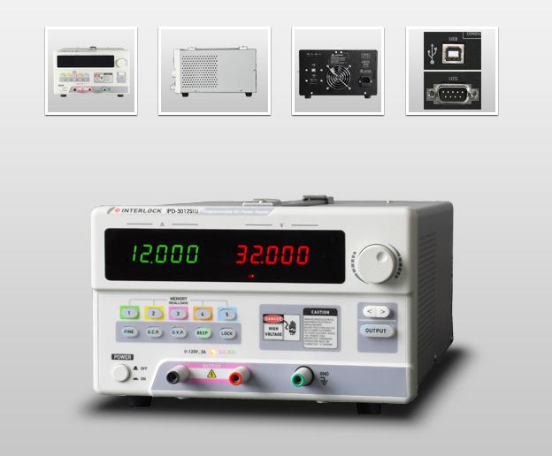 成都英特罗克30V12A可编程线性直流电源IPD-3012SLU
