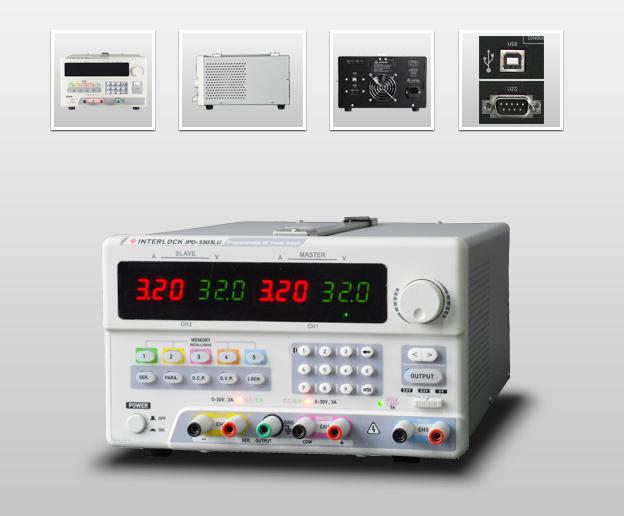 成都英特罗克30V3A可编程线性直流电源 IPD-3303LU
