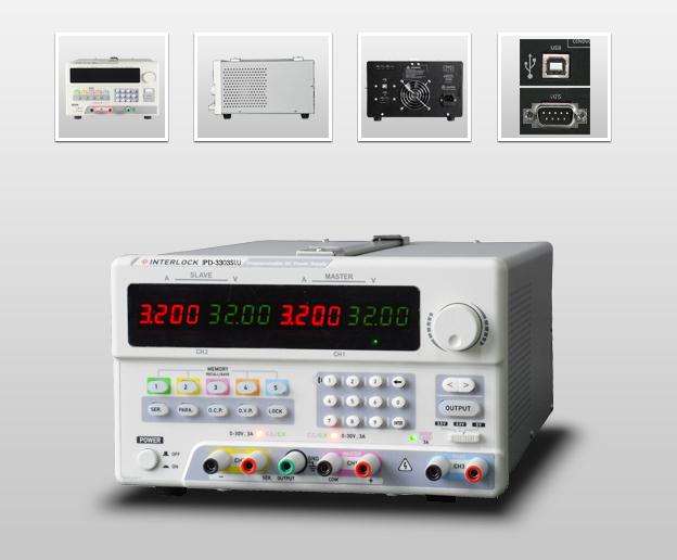 成都英特罗克30V3A可编程线性直流电源IPD-3303SLU