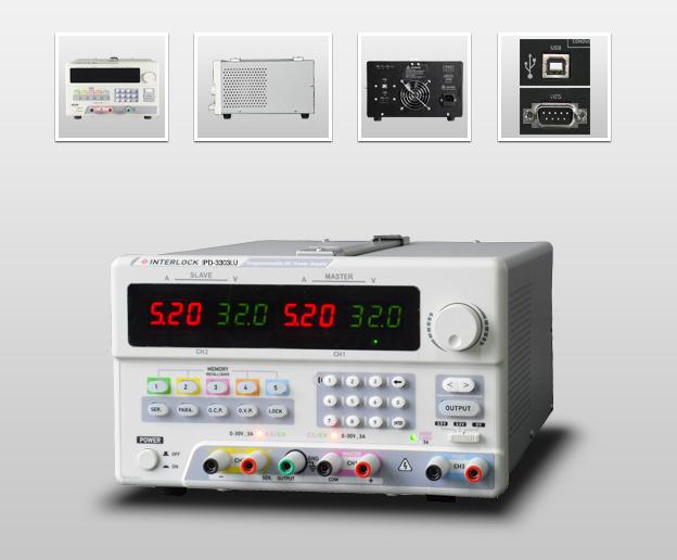 成都英特罗克30V5A可编程线性直流电源IPD-3305LU