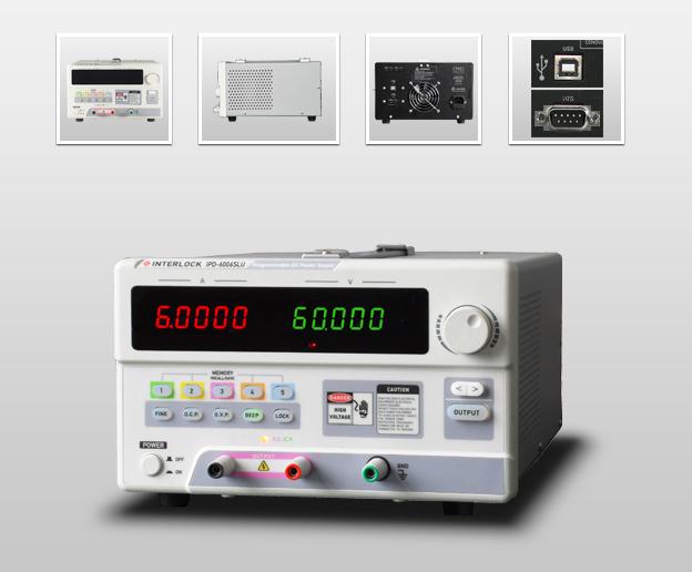 成都英特罗克60V6A可编程线性直流电源IPD-6006SLU