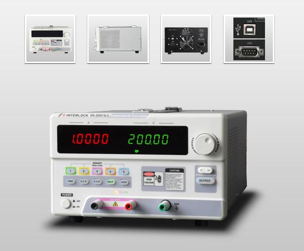 成都英特罗克200V1A可编程线性直流电源IPD-20001SLU