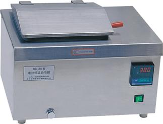 電熱恒溫油浴鍋DU-20.恒溫油浴鍋DU-20.數顯恒溫油浴鍋DU-20.上海一恒數顯電熱恒溫油浴鍋DU-20