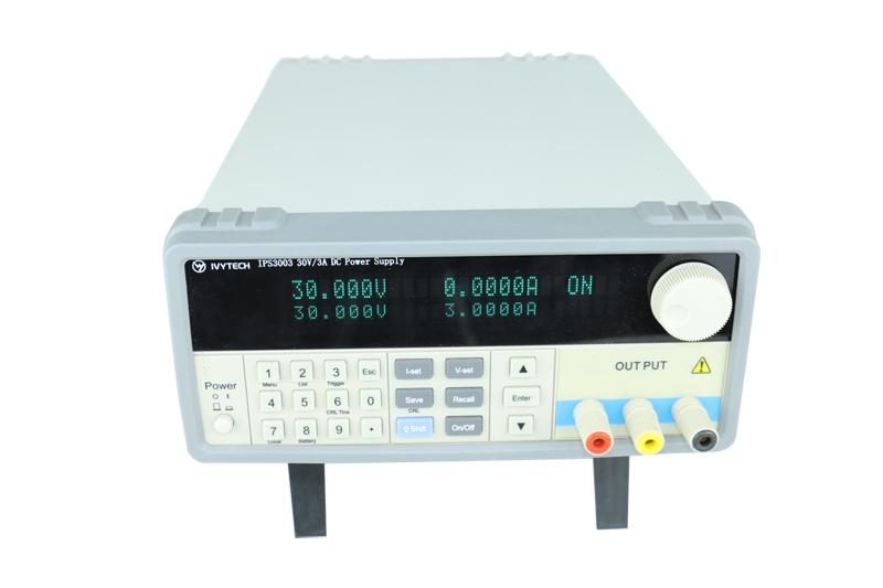 IVYTECH艾维泰科30V3A五位数显示可编程直流电源IPS-3003