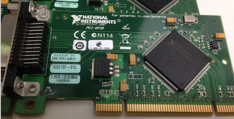 高價回收 NI USB-GPIB卡通訊卡USB-GPIB卡