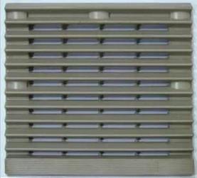 ~機箱機柜通風過濾網組 百葉窗 外形尺寸 204*204mm ZL-804