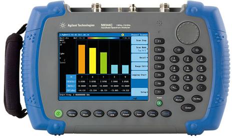 N9344C手持式频谱分析仪