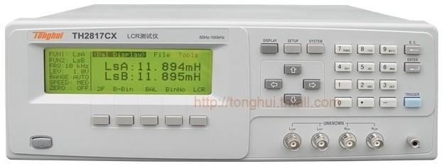 TH2817CX濾波器平衡LCR測試儀