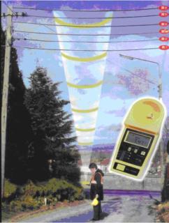 600E、2000E電纜測高儀超聲波測高儀
