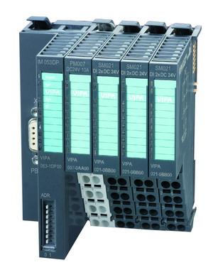 深圳办事处供应VIPA研制的小型智能SLIO - 新一代分布式IO系统