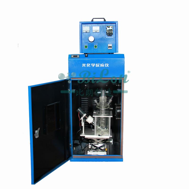 光催化雙層玻璃反應釜SGF-5L