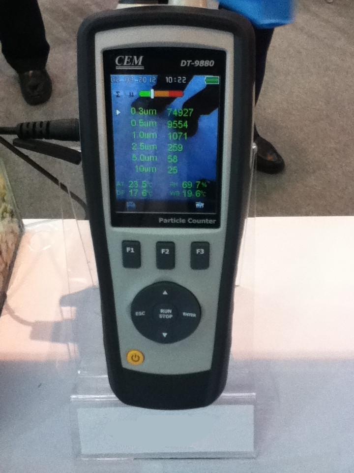 DT-9881M四合一塵埃粒子計數器粉塵儀