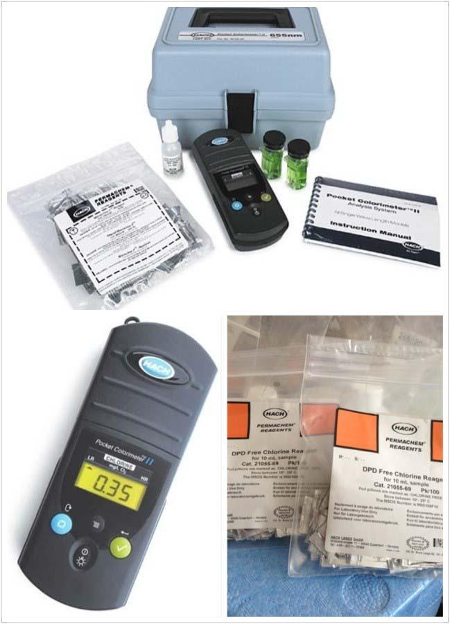 便攜式余氯總氯測定儀
