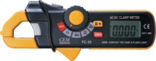 香港CEM 袖珍式交直流钳型表