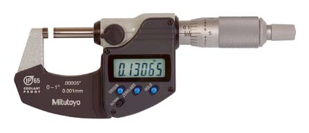 三豐293系列防水防油IP65數顯千分尺