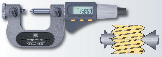 螺紋測量千分尺