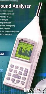 噪音計聲級計即時音頻分析儀 TES-1358 (RS-232)