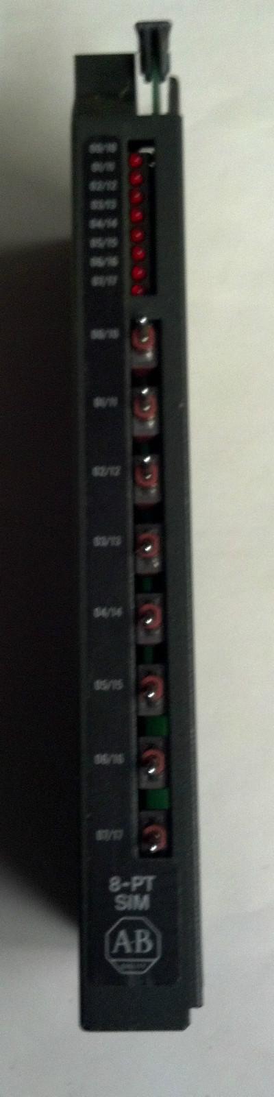 AB 羅克韋爾1771-SIM,PLC-5系列輸入輸出仿真模塊