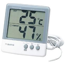 日本SATO PC-5000TRH-II佐藤数显温湿度计