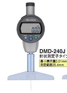 日本得乐TECLOCK数显深度计DMD-240J