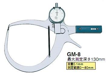 外径卡规|日本得乐TECLOCK外径卡规GM-8