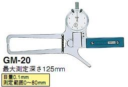 日本得乐TECLOCK外径卡规GM-20