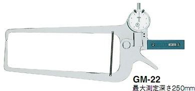 日本得乐TECLOCK外径卡规GM-22