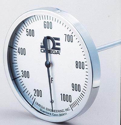 美國omega雙金屬溫度計|B-0-150F-9-12