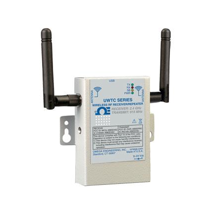 優勢批發美國omega熱電阻 UWTC-RPT1-915長距離無線中繼器接收機系統