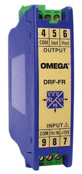 原廠批發美國omega熱電偶|DRF-FR-115VAC-10KHZ-010頻率輸入信號調節器