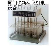 RCZ-6C3六杯智能藥物溶出度儀(液晶顯示,自動打?。? onerror=