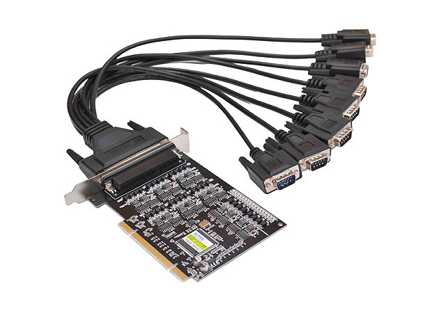 8口工業級RS-485422 PCI多串口卡