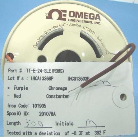 TT-E-24-SLE热电偶线|美国omega热电偶测温线感温线