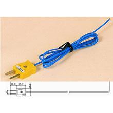 TT-K-36-SLE热电偶线+SMPW-K-M黄色插头+测温焊点